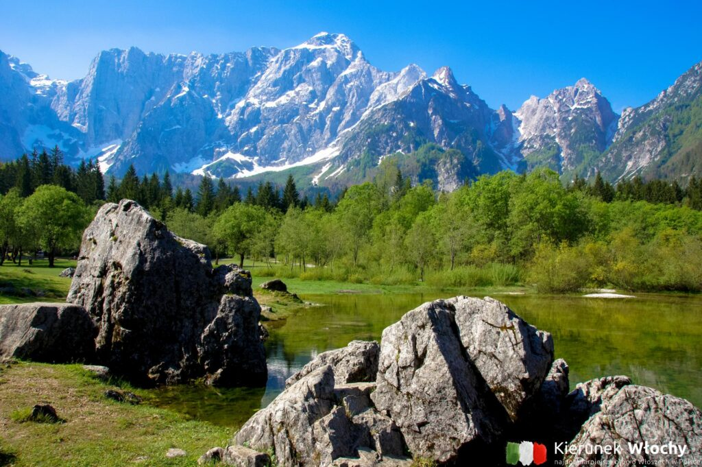 Laghi di Fusine, Friuli Wenecja Julijska, Włochy (fot. Łukasz Ropczyński, kierunekwlochy.pl)
