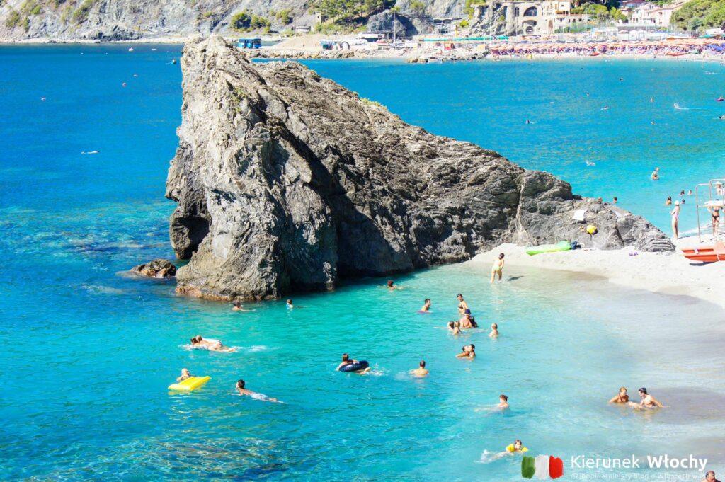 charakterystyczna skała w Monterosso al Mare