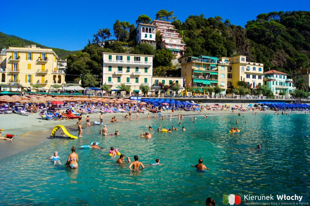 Monterosso al Mare, Liguria, Włochy (fot. Ł. Ropczyński, kierunekwlochy.pl)
