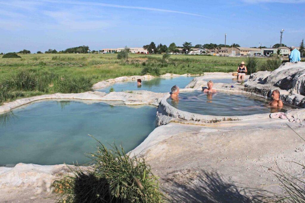 Piscine Carletti, darmowe gorące źródła w Viterbo (fot. Visit Viterbo)