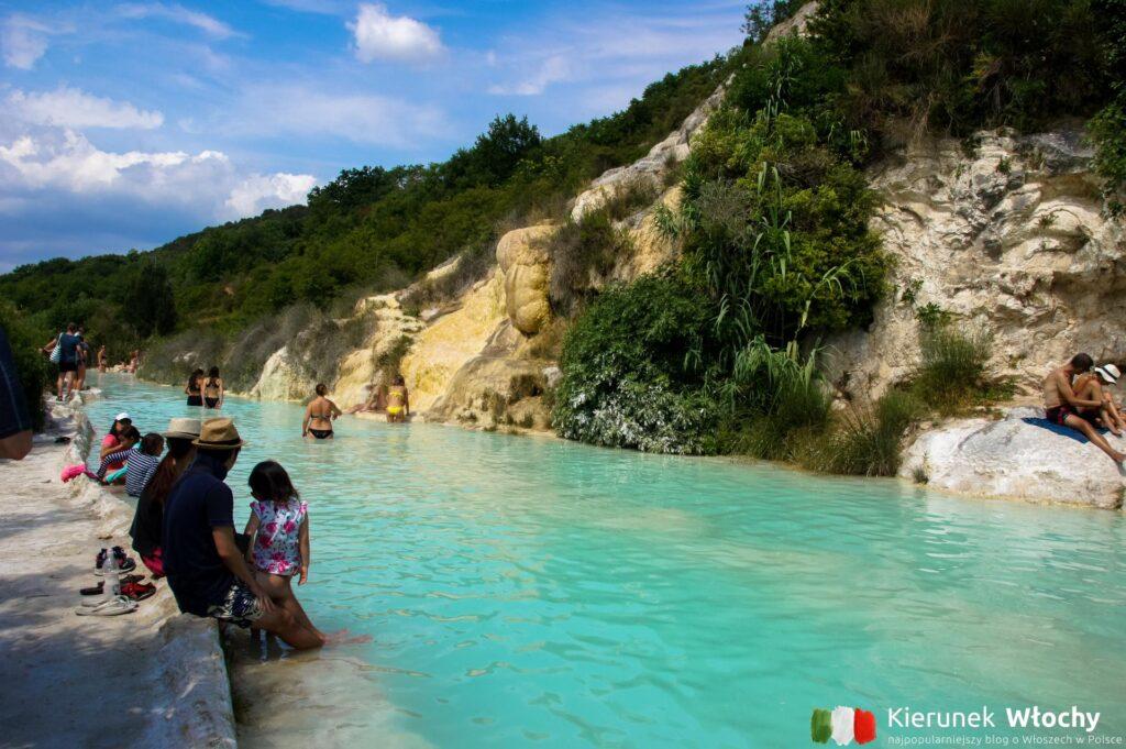 basen termalny w Bagno Vignoni, Toskania (fot. Łukasz Ropczyński, kierunekwlochy.pl)