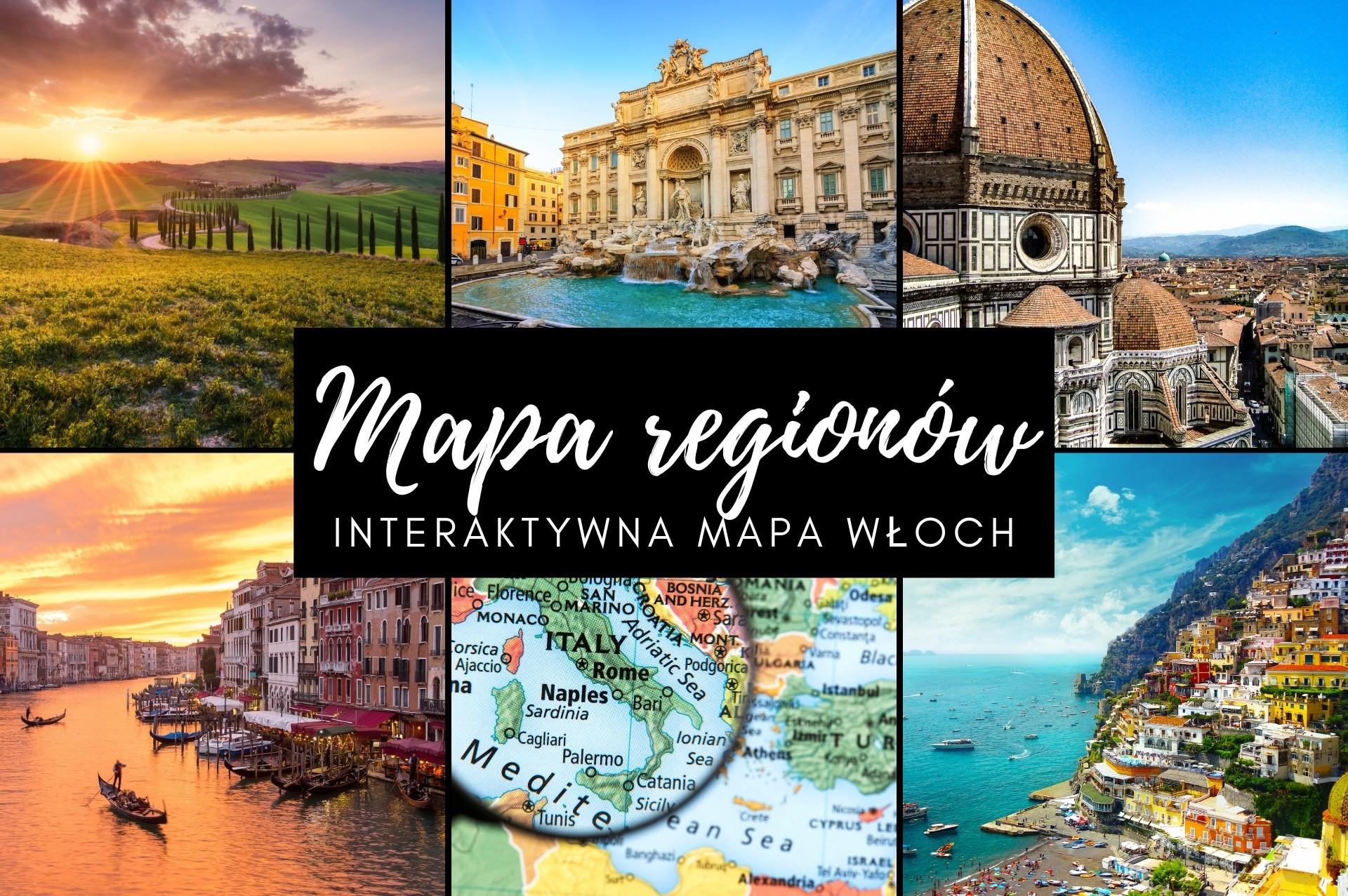 Włochy mapa regionów. Regiony Włoch na interaktywnej mapie oraz opisy poszczególnych regionów