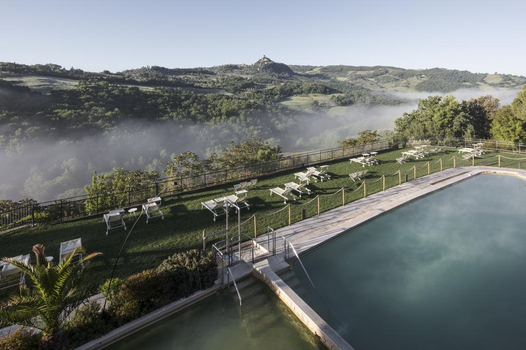 Albergo Posta Marcucci****, wyjątkowy hotel w Toskanii w Bagno Vignoni