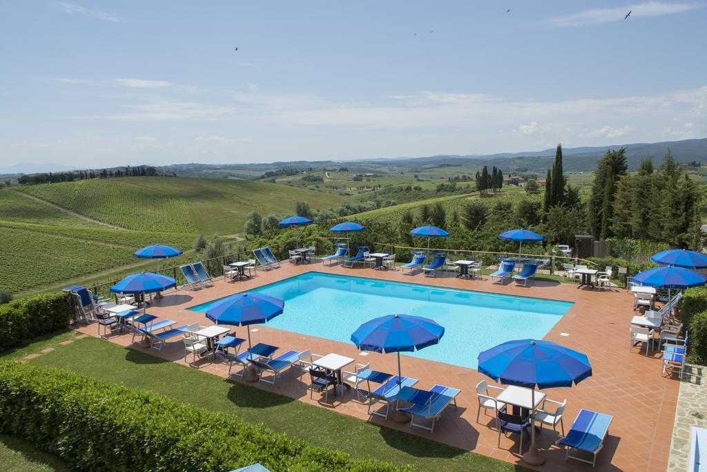 Hotel Belvedere Di San Leonino, noclegi w Toskanii
