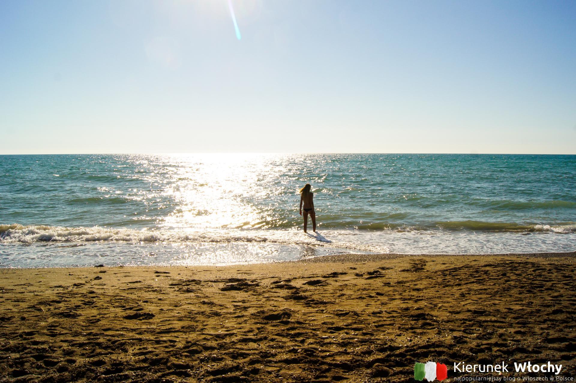 Marina di Bibbona, wybrzeże Toskanii, Włochy (fot. Łukasz Ropczyński, kierunekwlochy.pl)