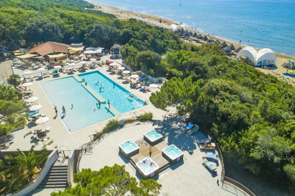 Paradù EcoVillage & Resort, noclegi w Toskanii przy plaży