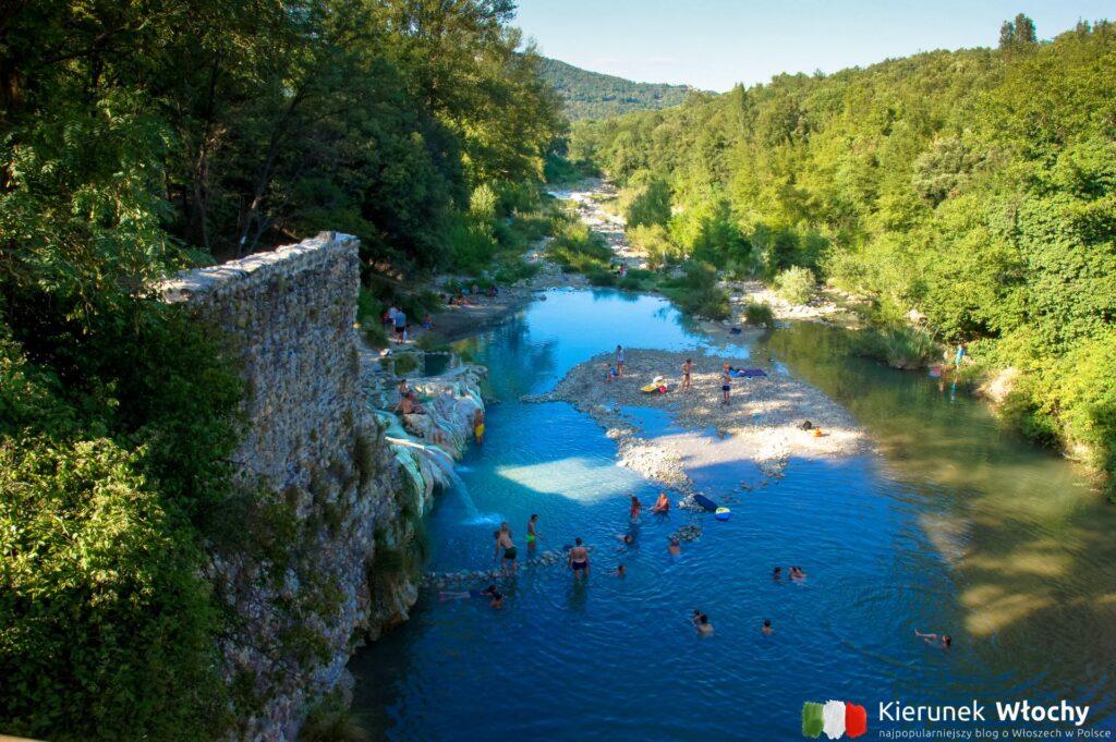 Bagni di Petriolo, Toskania (fot. Łukasz Ropczyński, kierunekwlochy.pl)