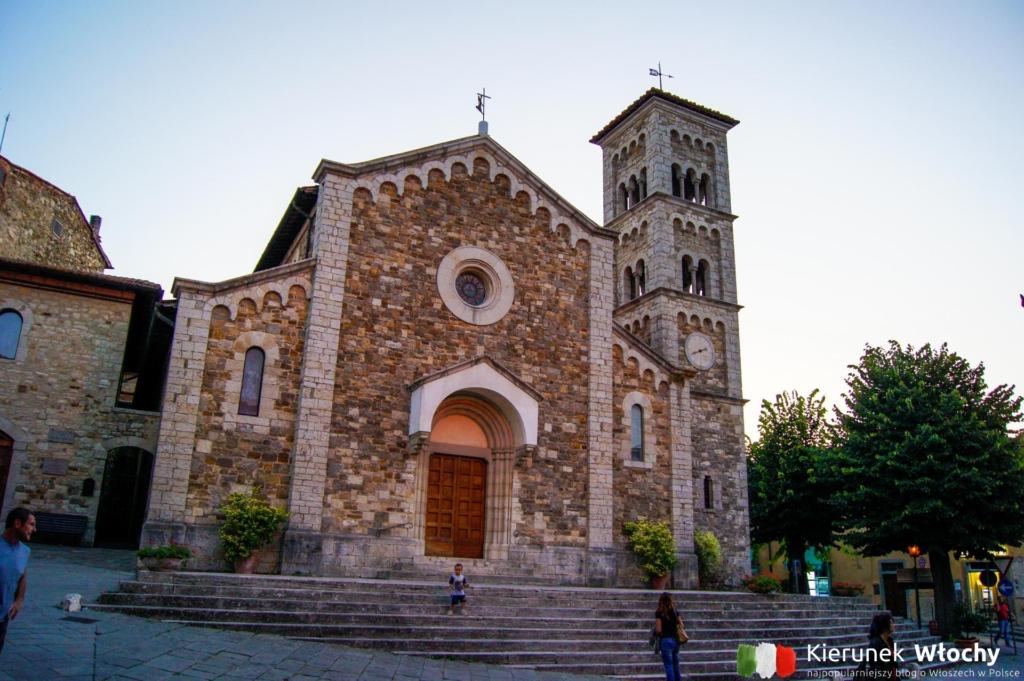 kościół San Salvatore, Castellina in Chianti, Włochy (fot. Łukasz Ropczyński, kierunekwlochy.pl)