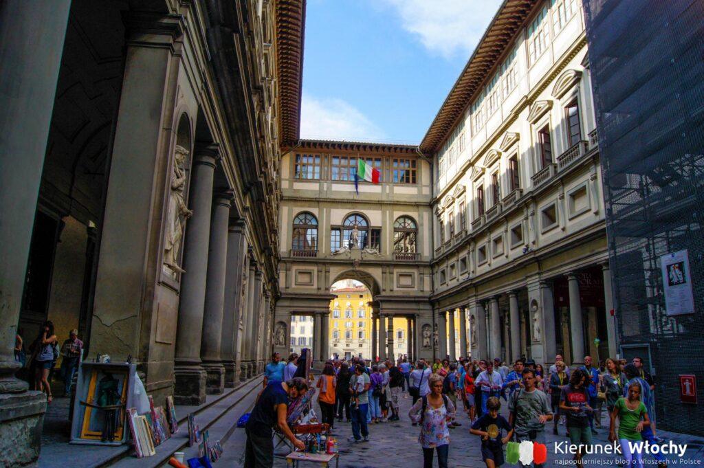 Galleria degli Uffizi, Florencja, Włochy (fot. Łukasz Ropczyński, kierunekwlochy.pl)