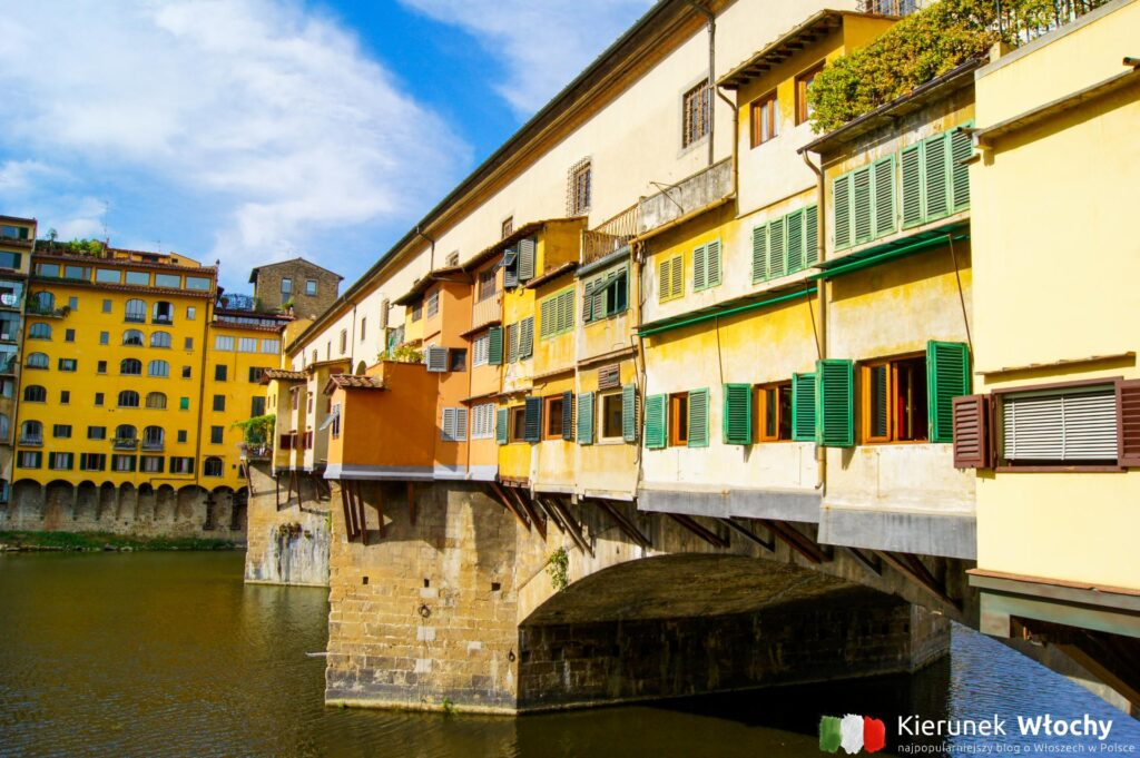 Ponte Vecchio, Florencja, Włochy (fot. Łukasz Ropczyński, kierunekwlochy.pl)