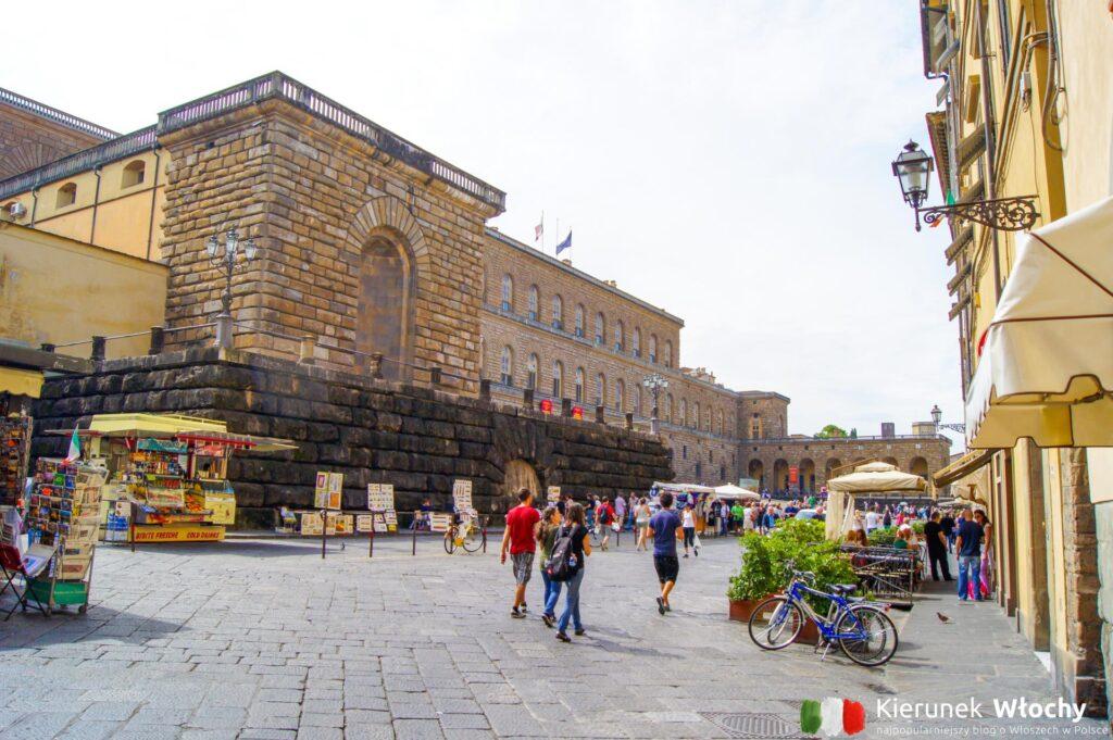 Palazzo Pitti we Florencji, Włochy (fot. Łukasz Ropczyński, kierunekwlochy.pl)