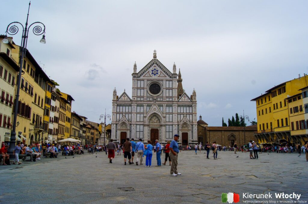 Piazza di Santa Croce, Florencja, Włochy (fot. Łukasz Ropczyński, kierunekwlochy.pl)
