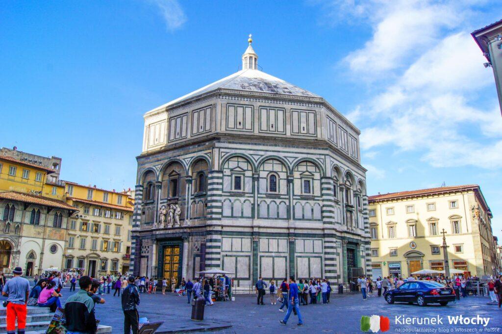 Baptysterium, Florencja, Włochy (fot. Łukasz Ropczyński, kierunekwlochy.pl)