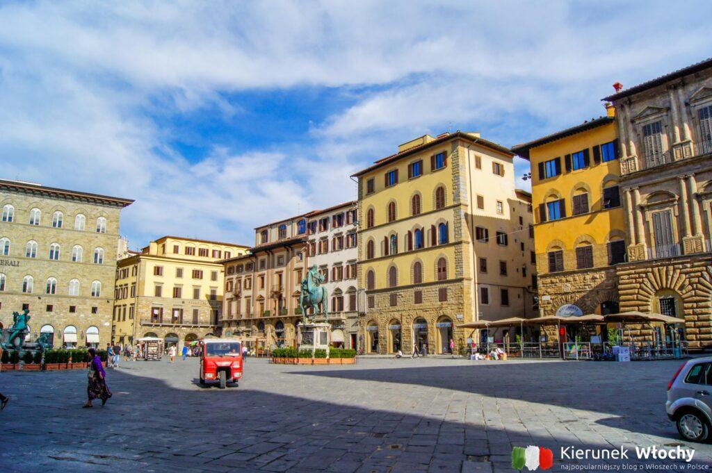 Piazza della Signoria, Florencja, Włochy (fot. Łukasz Ropczyński, kierunekwlochy.pl)