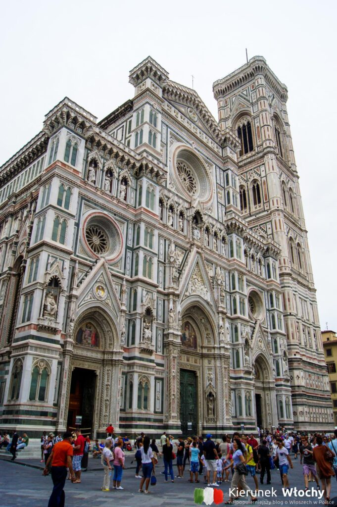 Santa Maria del Fiore, Florencja, Włochy (fot. Łukasz Ropczyński, kierunekwlochy.pl)