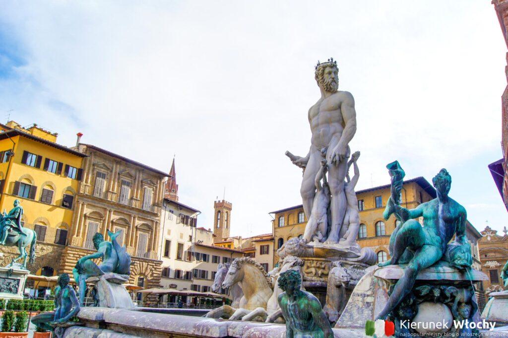 Pomnik Neptuna, Florencja, Włochy (fot. Łukasz Ropczyński, kierunekwlochy.pl)