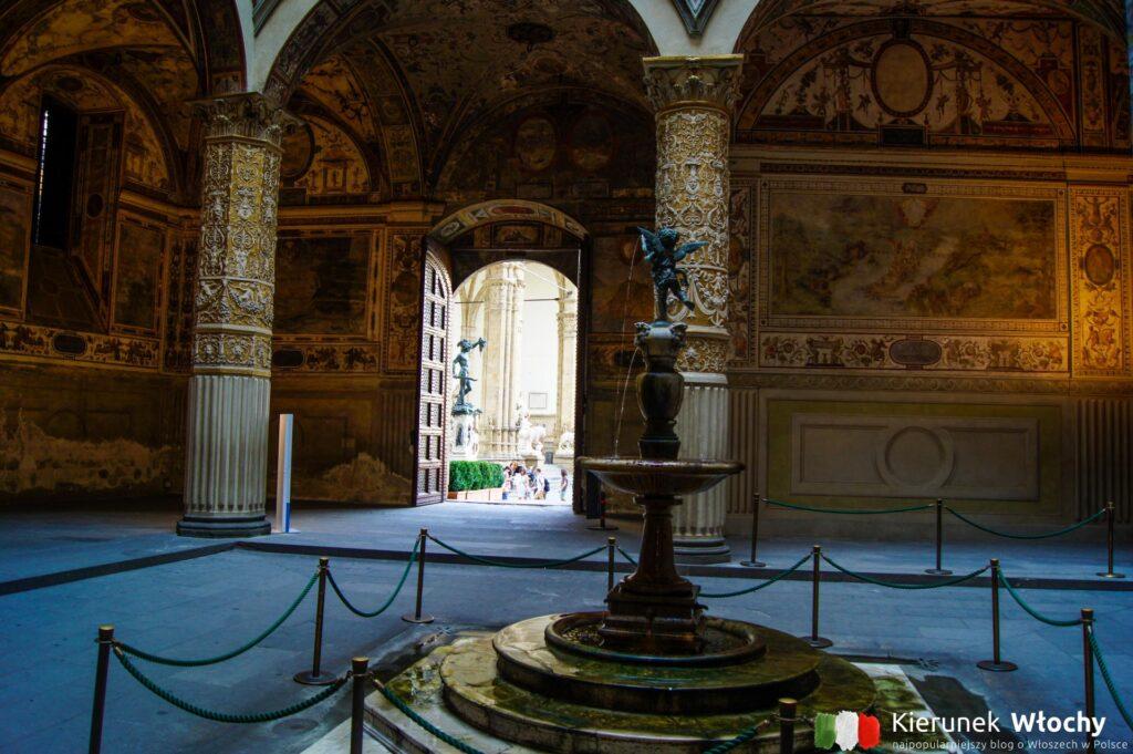 Pałac Vecchio, Florencja, Włochy (fot. Łukasz Ropczyński, kierunekwlochy.pl)