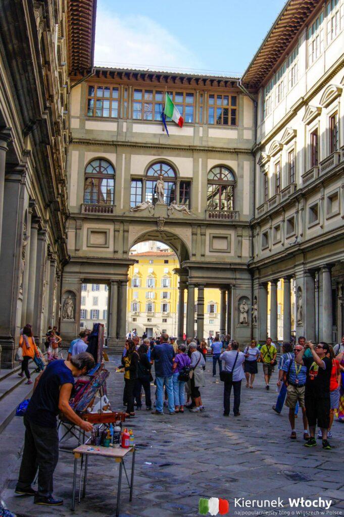 Galeria Degli Uffizi, Florencja, Włochy (fot. Łukasz Ropczyński, kierunekwlochy.pl)