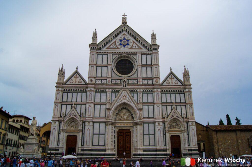 Basilica di Santa Croce, Florencja, Włochy (fot. Łukasz Ropczyński, kierunekwlochy.pl)