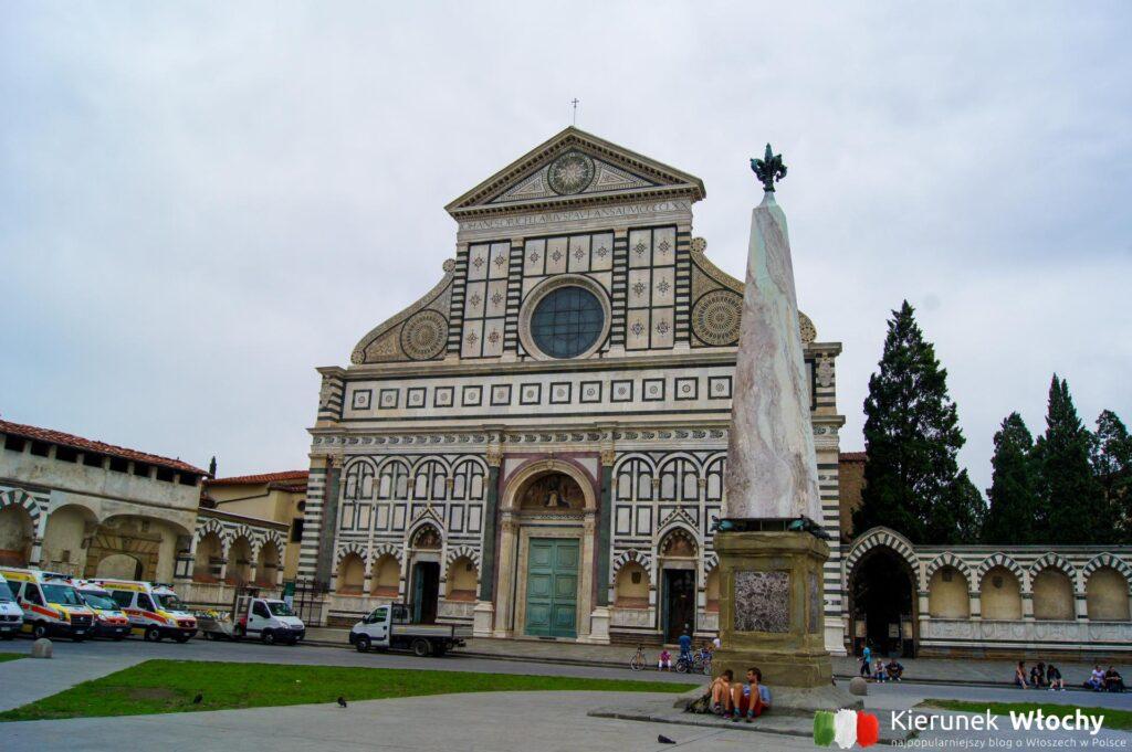 Santa Maria Novella, Florencja, Włochy (fot. Łukasz Ropczyński, kierunekwlochy.pl)