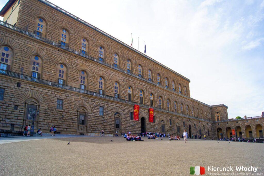 Palazzo Pitti, Florencja, Włochy (fot. Łukasz Ropczyński, kierunekwlochy.pl)