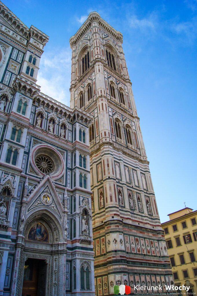 dzwonnica przy Santa Maria del Fiore we Florencji (fot. Łukasz Ropczyński, kierunekwlochy.pl)