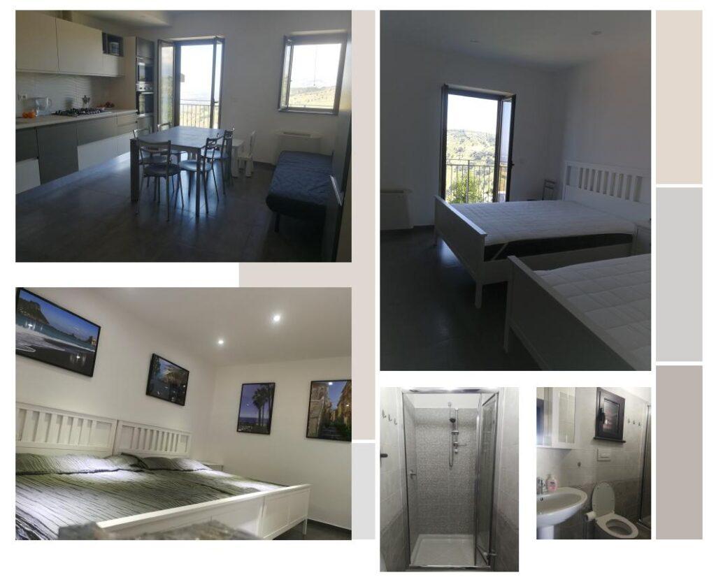 Casa Felice Calabria, apartament na piętrze