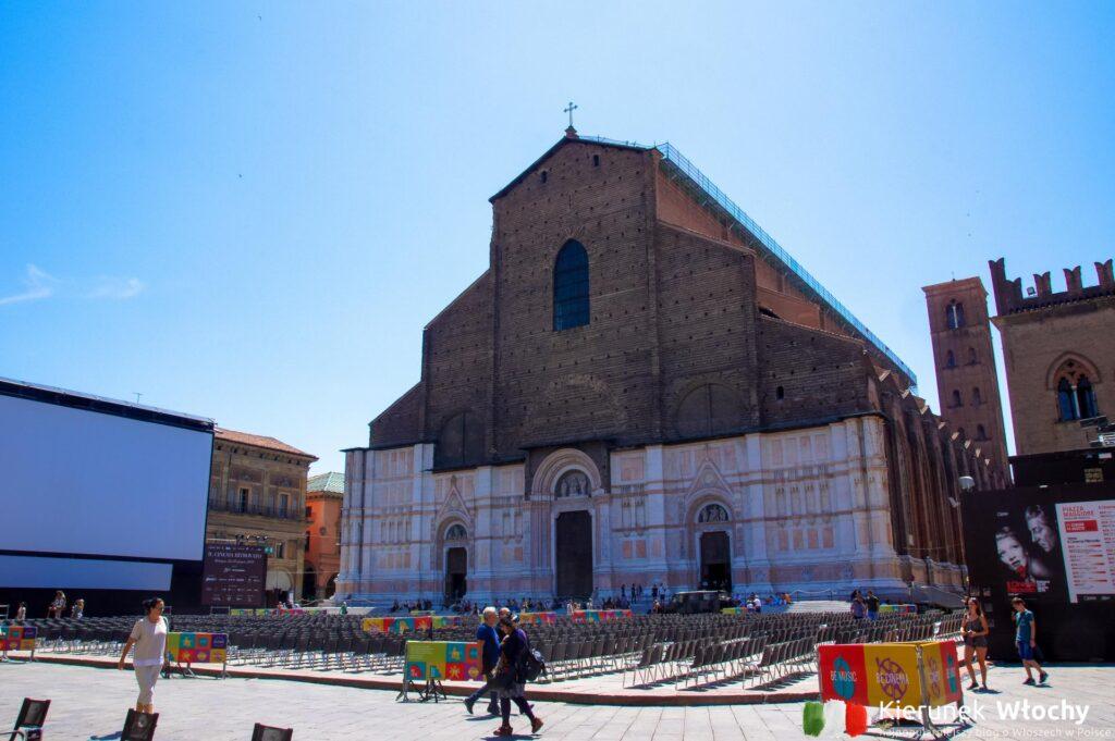 Bazylika św. Petroniusza (San Petronio) w Bolonii, Włochy (fot. Łukasz Ropczyński, kierunekwlochy.pl)