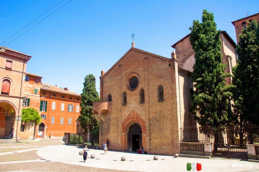 Bazylika Santo Stefano w Bolonii (fot. Łukasz Ropczyński, kierunekwlochy.pl)