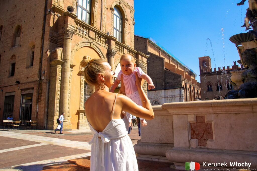 po raz ostatni Bolonię zwiedzaliśmy z naszymi dziećmi - Milan miał wtedy zaledwie 3 miesiące, a Natan 4 lata (fot. Łukasz Ropczyński, kierunekwlochy.pl)