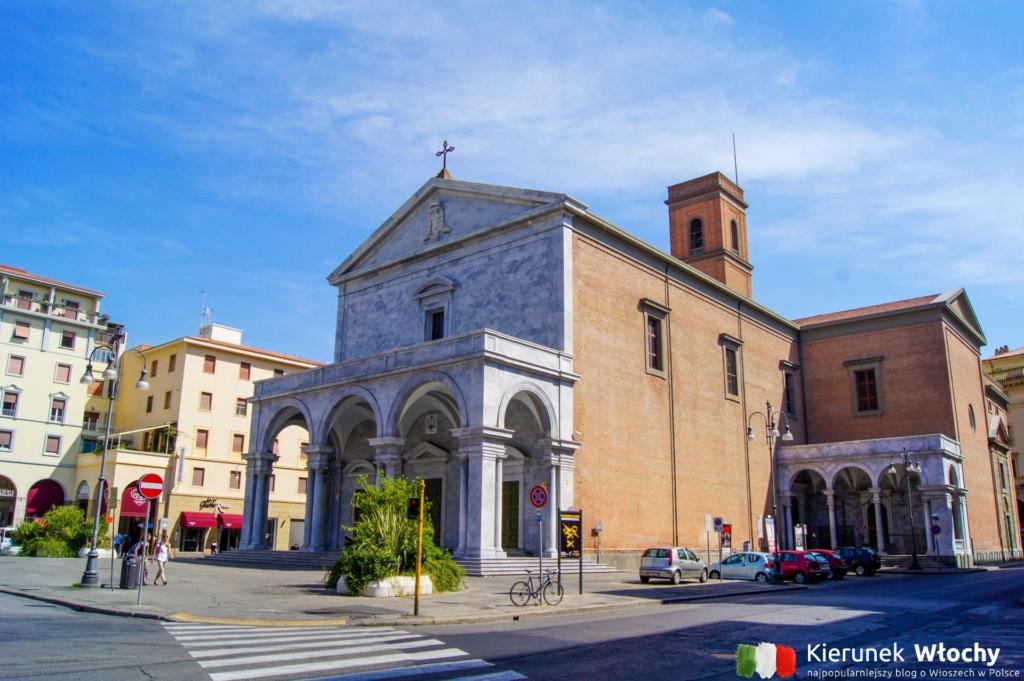 Katedra św. Franciszka w Livorno, Włochy (fot. Łukasz Ropczyński, kierunekwlochy.pl)