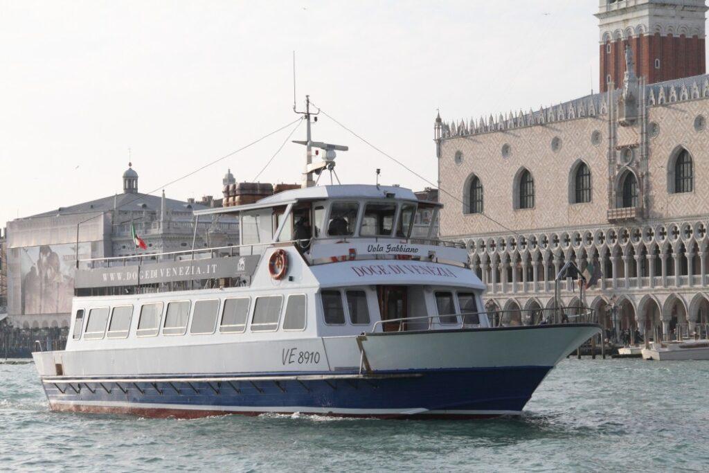 statek Il Doge di Venezia w Wenecji (fot. materiały przewoźnika)