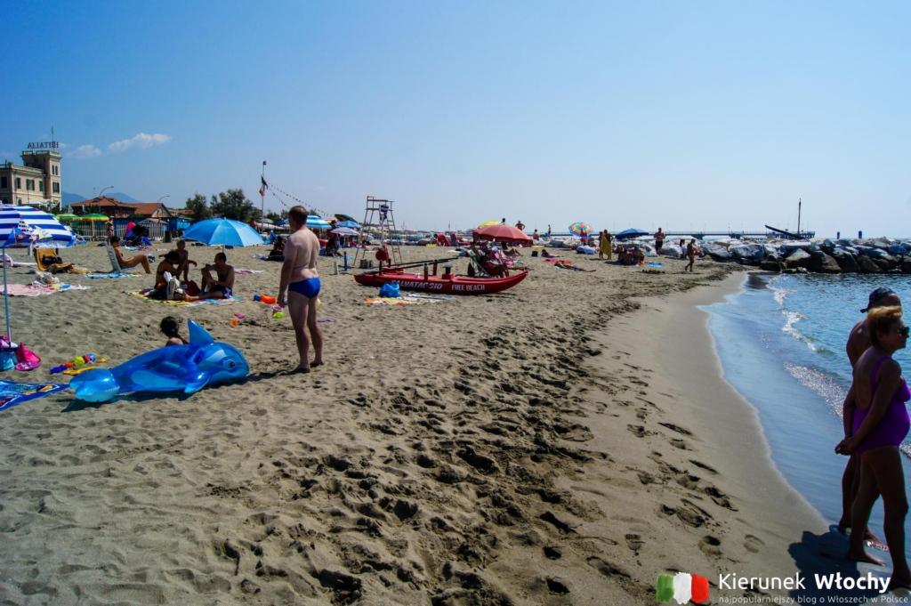 miejska plaża (fot. Łukasz Ropczyński, kierunekwlochy.pl)