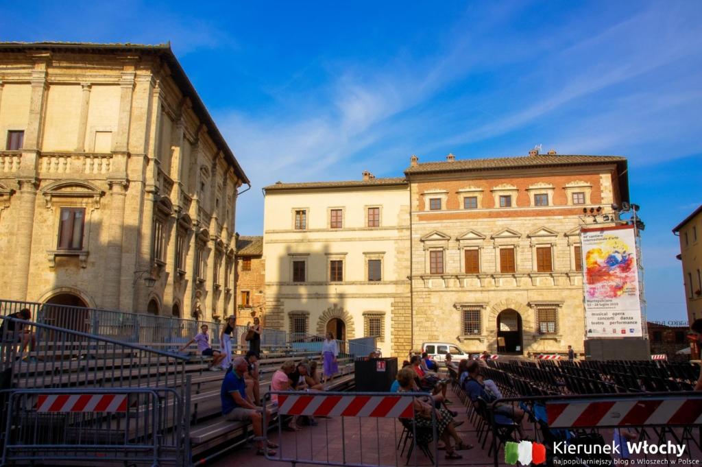 Piazza Grande, Montepulciano, Toskania, Włochy (fot. Łukasz Ropczyński, kierunekwlochy.pl)