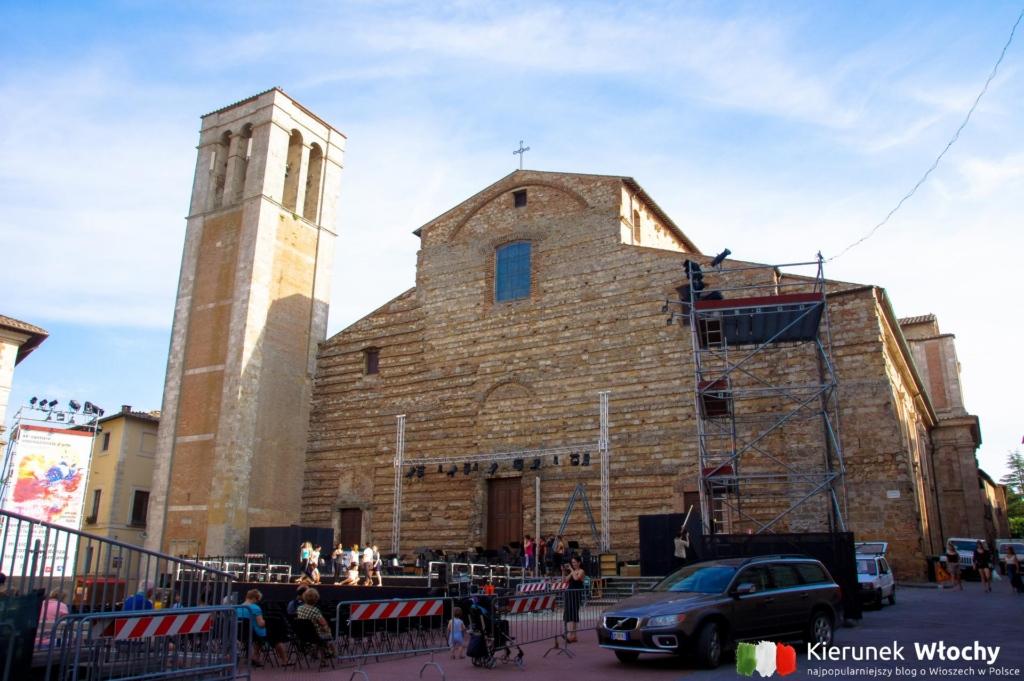 Duomo di Montepulciano, Toskania, Włochy (fot. Łukasz Ropczyński, kierunekwlochy.pl)