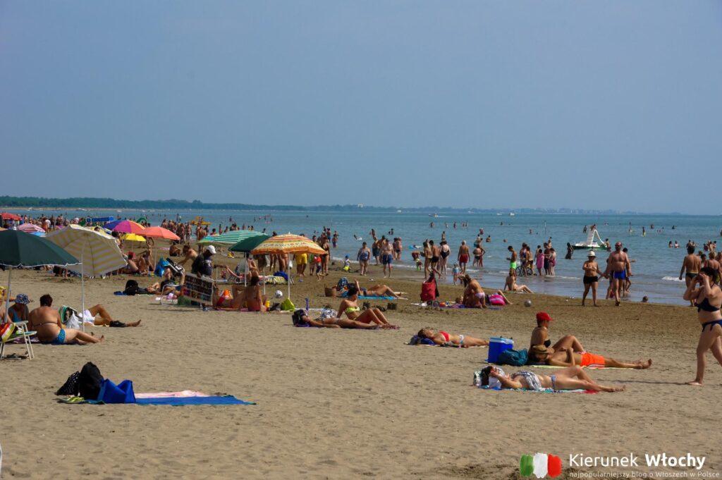 miejska plaża, spiaggia levante (fot. Łukasz Ropczyński, kierunekwlochy.pl)