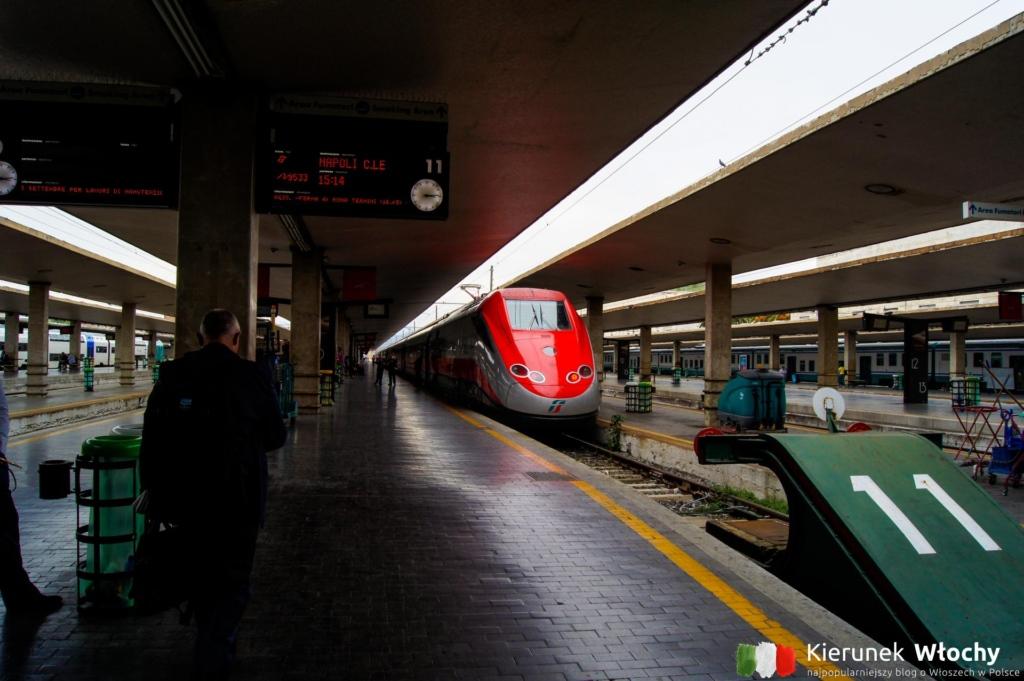 dworzec kolejowy we Florencji, Toskania, Włochy (fot. Łukazs Ropczyński, kierunekwlochy.pl)