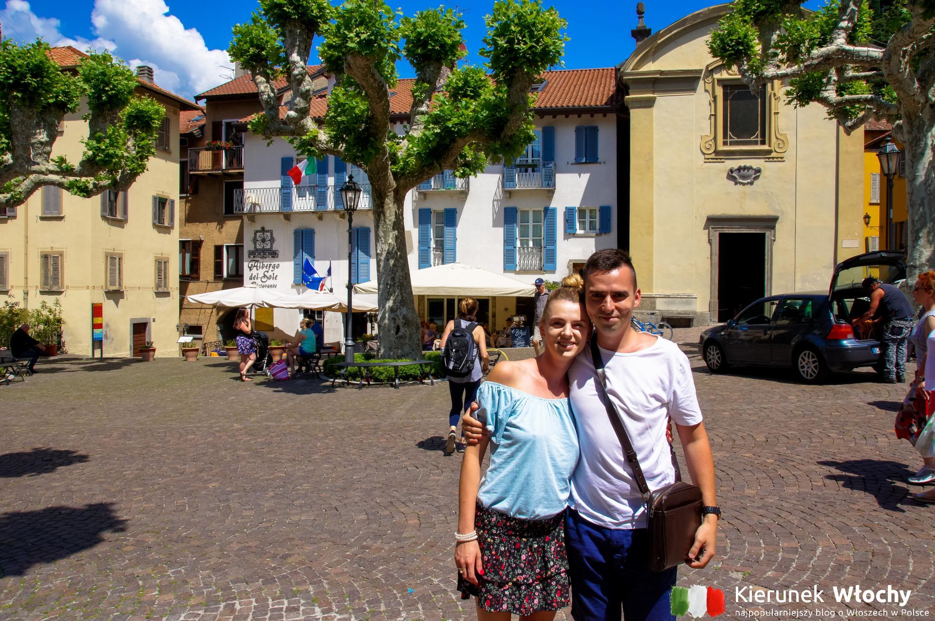 nasze wspólne zdjęcie z Varenny nad jeziorem Como ;)