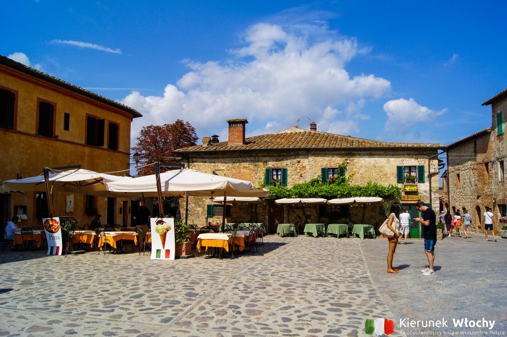 Monteriggioni, Toskania, Włochy (fot. Łukasz Ropczyński, kierunekwlochy.pl)