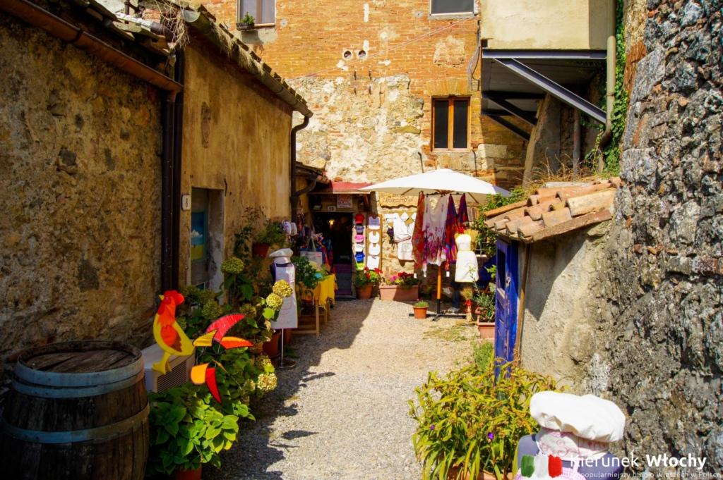 Monteriggioni, Włochy (fot. Łukasz Ropczyński, kierunekwlochy.pl)