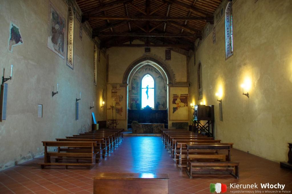 kościół św. Franciszka w Pienzy, Włochy (fot. Łukasz Ropczyński, kierunekwlochy.pl)