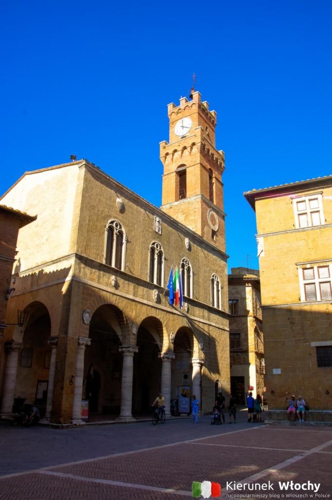 Palazzo Borgia w Pienzy, Włochy (fot. Łukasz Ropczyński, kierunekwlochy.pl)