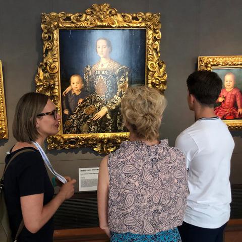 polski przewodnik po Florencji, Agata Chrzanowska - Guide me Florence