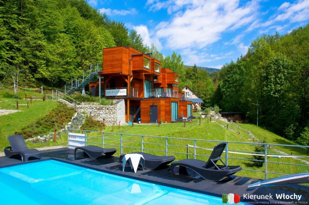 w Szuflandii jest też odkryty basen i saunarium (fot. Łukasz Ropczyński, kierunekwlochy.pl)