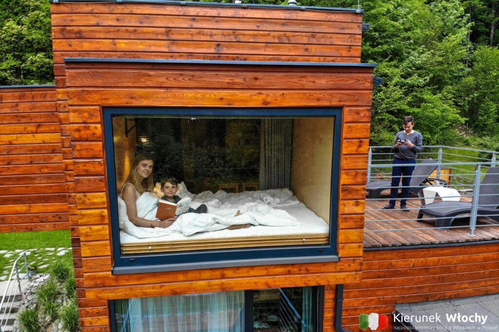 tutaj naprawdę śpi się w szufladach (fot. Łukasz Ropczyński, kierunekwlochy.pl)