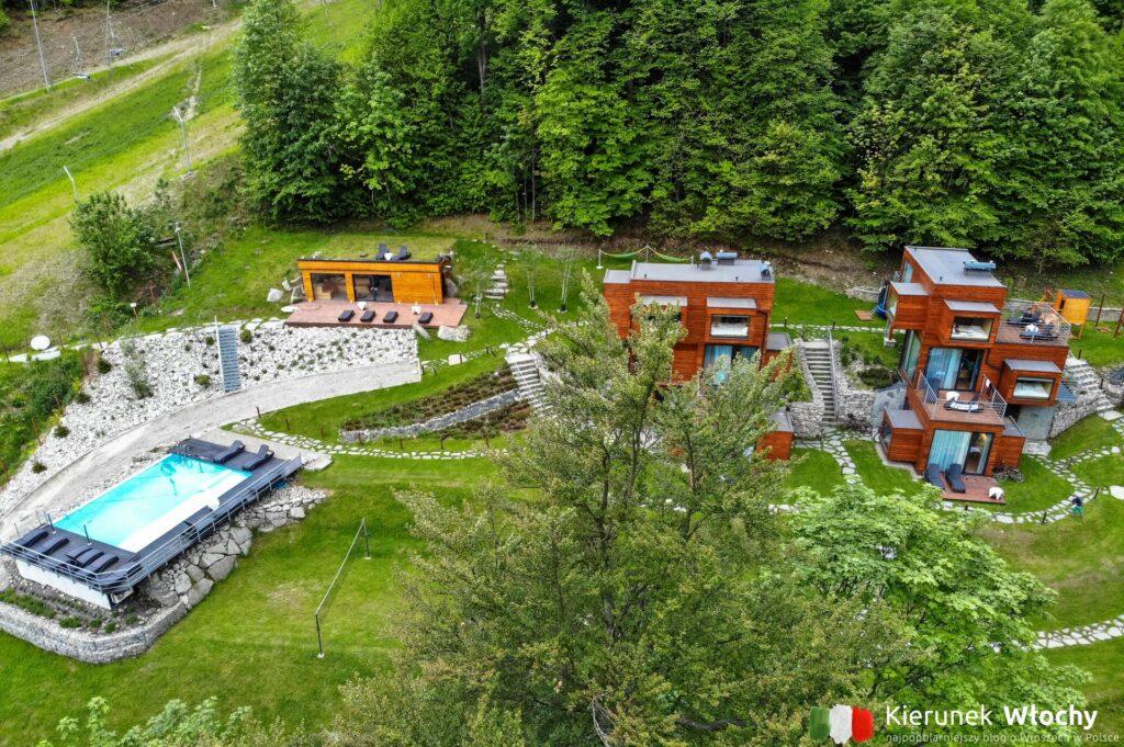 tuż obok znajduje się stok narciarski (fot. Łukasz Ropczyński, kierunekwlochy.pl)