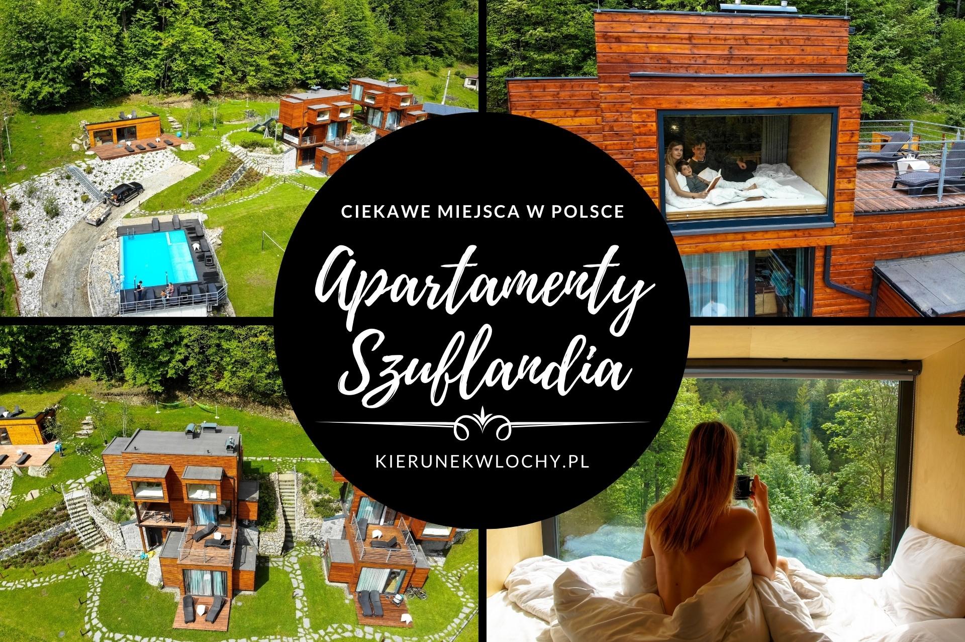 Apartamenty Szuflandia w Wiśle, ciekawe miejsca w Polsce
