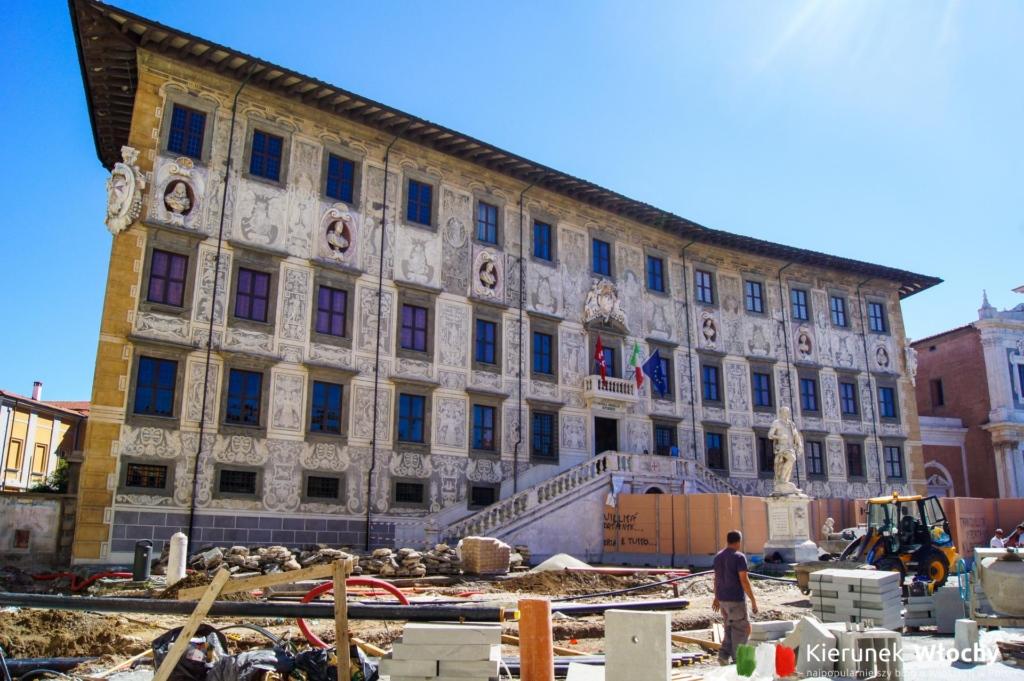 Piazza dei Cavalieri, Piza, Włochy (fot. Łukasz Ropczyński, kierunekwlochy.pl)