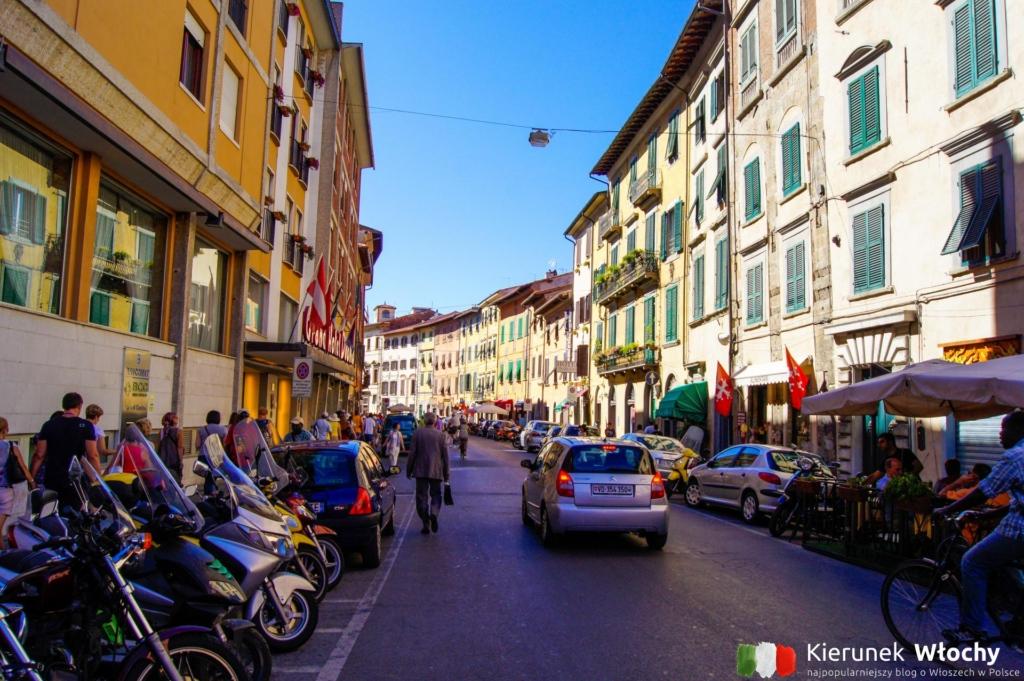 Via Santa Maria w Pizie, Toskania, Włochy (fot. Ł. Ropczyński, kierunekwlochy.pl)