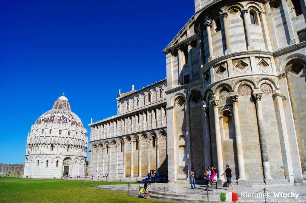 Katedra Santa Maria Assunta, Piza, Włochy (fot. Łukasz Ropczyński, kierunekwlochy.pl)